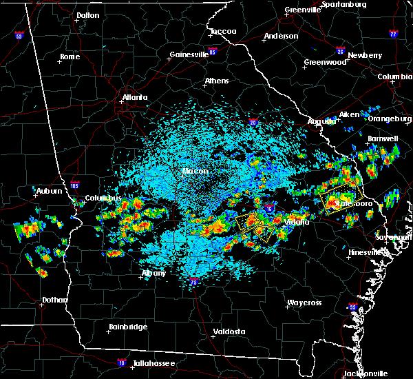 Radar Image for Severe Thunderstorms near Mount Vernon, GA at 9/9/2019 2:26 PM EDT
