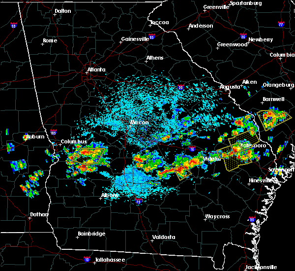 Radar Image for Severe Thunderstorms near McRae, GA at 9/9/2019 2:54 PM EDT
