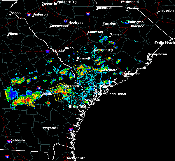 Radar Image for Severe Thunderstorms near Bellville, GA at 9/9/2019 3:09 PM EDT