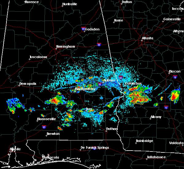 Radar Image for Severe Thunderstorms near Columbus, GA at 9/9/2019 3:24 PM EDT