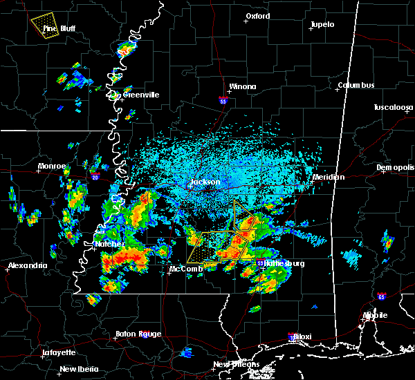 Radar Image for Severe Thunderstorms near New Hebron, MS at 9/9/2019 4:09 PM CDT