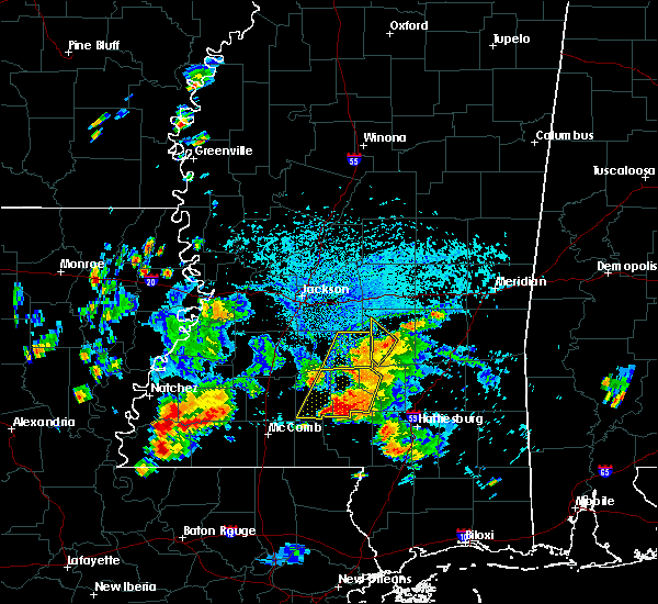 Radar Image for Severe Thunderstorms near New Hebron, MS at 9/9/2019 4:30 PM CDT