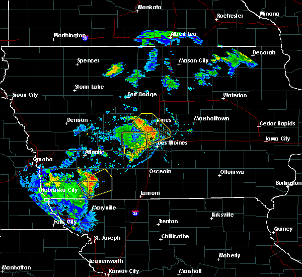 Radar Image for Severe Thunderstorms near Clive, IA at 9/9/2019 5:00 PM CDT