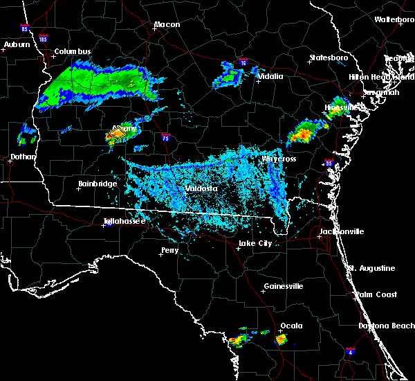Radar Image for Severe Thunderstorms near Putney, GA at 9/9/2019 6:09 PM EDT