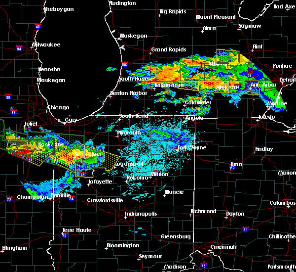 Radar Image for Severe Thunderstorms near Monon, IN at 6/23/2015 12:34 AM EDT