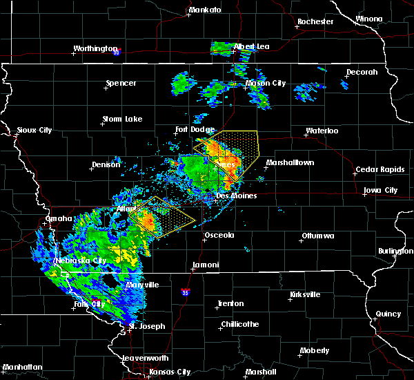 Radar Image for Severe Thunderstorms near Orient, IA at 9/9/2019 5:37 PM CDT