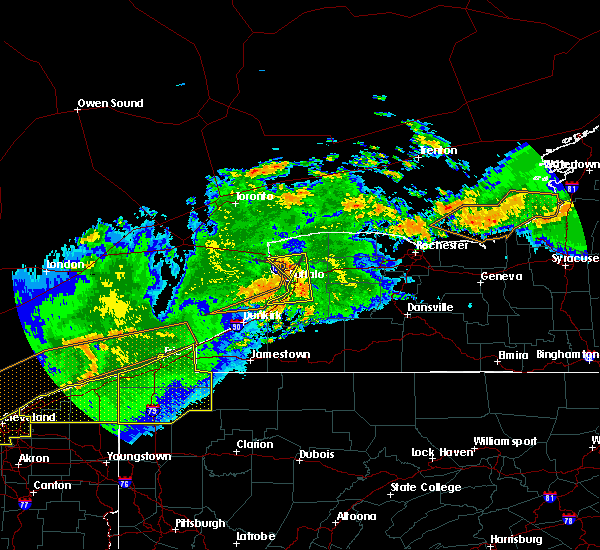Radar Image for Severe Thunderstorms near Pymatuning Central, PA at 6/23/2015 4:09 AM EDT