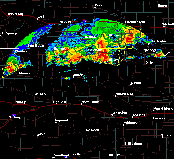 Radar Image for Severe Thunderstorms near Ainsworth, NE at 9/10/2019 7:37 PM CDT
