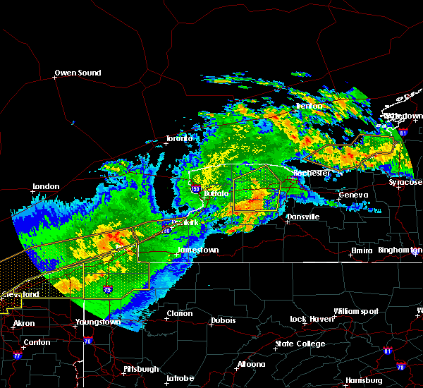 Radar Image for Severe Thunderstorms near Meadville, PA at 6/23/2015 4:47 AM EDT