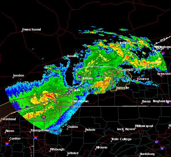 Radar Image for Severe Thunderstorms near Honeoye Falls, NY at 6/23/2015 4:55 AM EDT