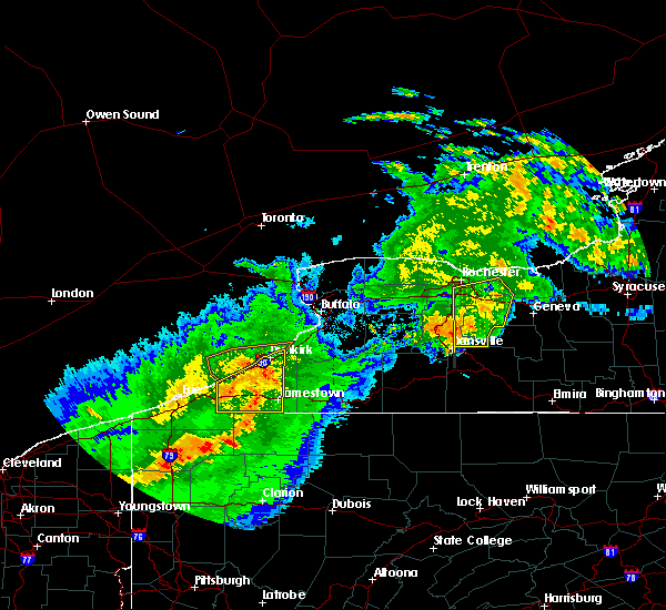 Radar Image for Severe Thunderstorms near Lima, NY at 6/23/2015 5:24 AM EDT