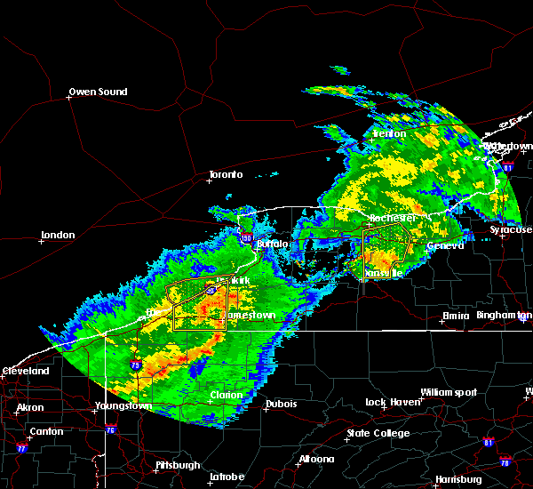 Radar Image for Severe Thunderstorms near Falconer, NY at 6/23/2015 5:30 AM EDT