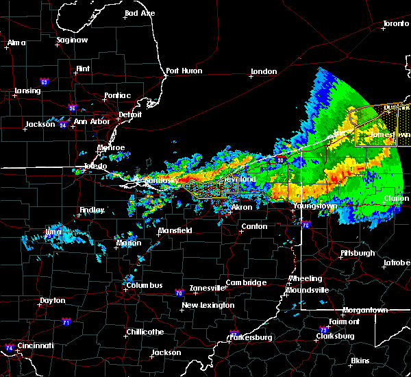 Radar Image for Severe Thunderstorms near North Randall, OH at 6/23/2015 5:31 AM EDT