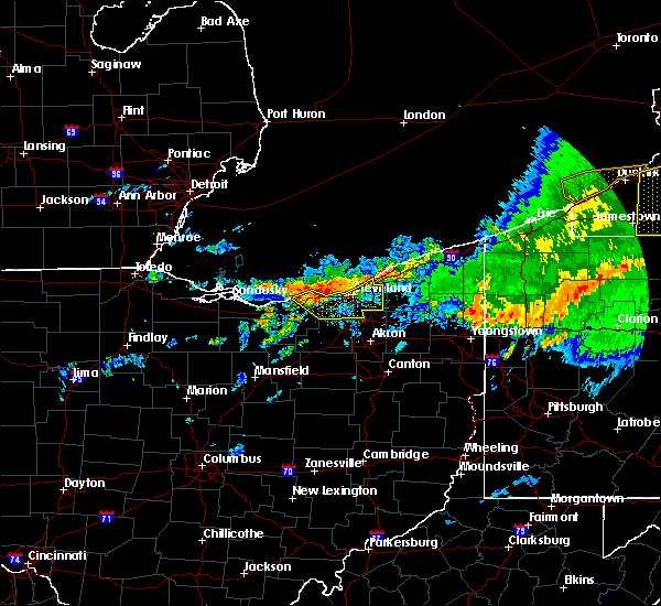 Radar Image for Severe Thunderstorms near Grand River, OH at 6/23/2015 5:42 AM EDT