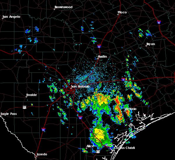 Radar Image for Severe Thunderstorms near Kingsbury, TX at 9/11/2019 2:22 PM CDT