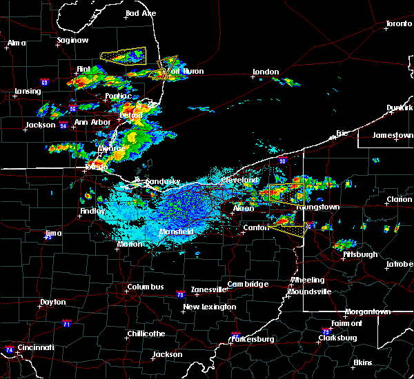 Radar Image for Severe Thunderstorms near Girard, OH at 9/11/2019 3:32 PM EDT