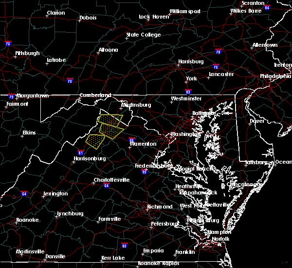 Radar Image for Severe Thunderstorms near Luray, VA at 9/11/2019 3:34 PM EDT