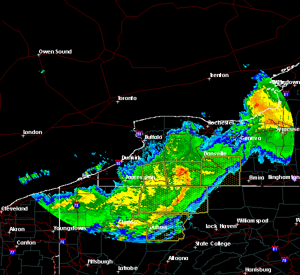 Radar Image for Severe Thunderstorms near Belfast, NY at 6/23/2015 6:33 AM EDT
