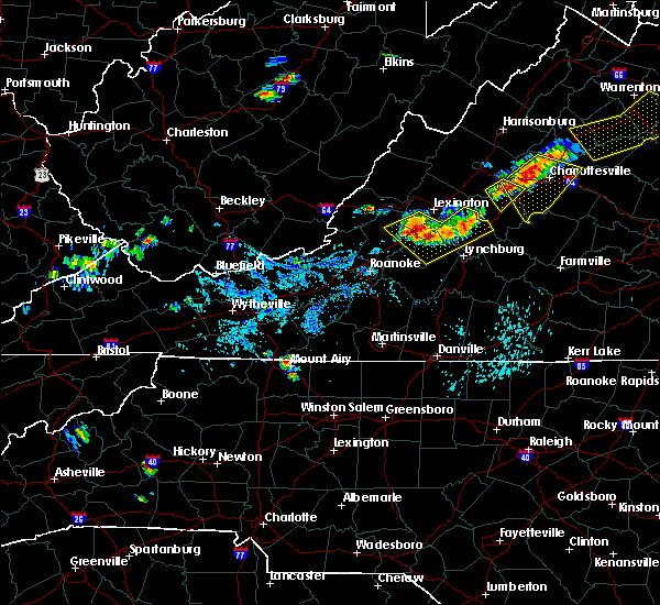 Radar Image for Severe Thunderstorms near Lovingston, VA at 9/11/2019 5:11 PM EDT