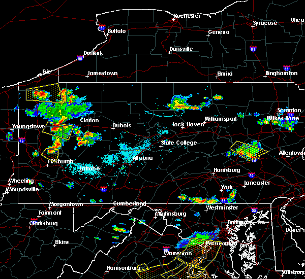 Radar Image for Severe Thunderstorms near Friedensburg, PA at 9/11/2019 5:27 PM EDT