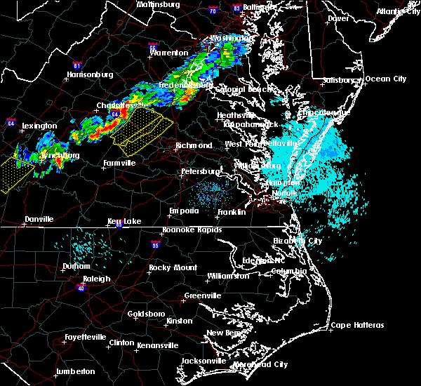 Radar Image for Severe Thunderstorms near Goochland, VA at 9/11/2019 6:55 PM EDT