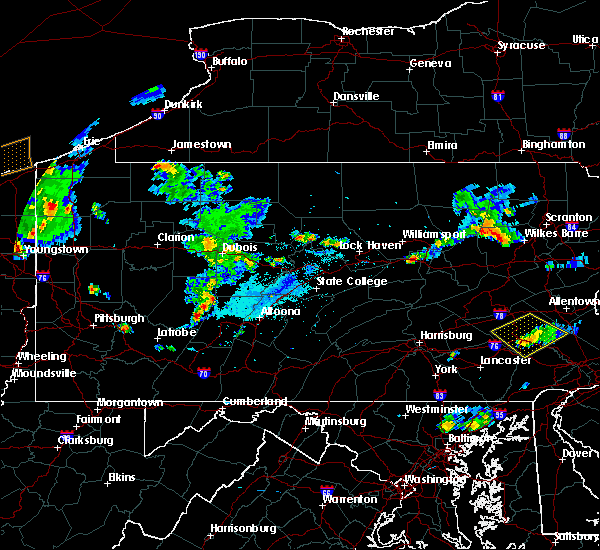 Radar Image for Severe Thunderstorms near Armagh, PA at 9/11/2019 6:59 PM EDT