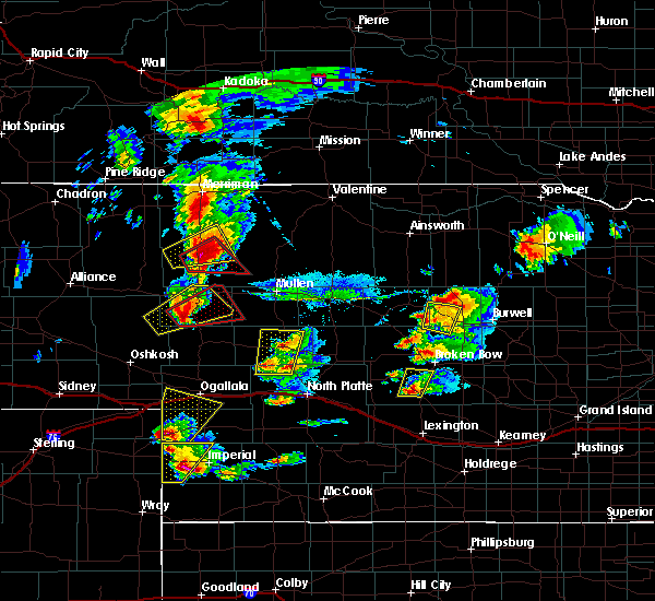 Radar Image for Severe Thunderstorms near Venango, NE at 9/11/2019 5:56 PM MDT