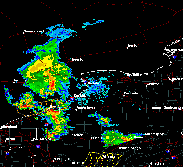 Radar Image for Severe Thunderstorms near Waterford, PA at 9/11/2019 8:02 PM EDT