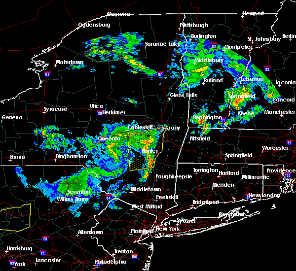 Radar Image for Severe Thunderstorms near Jefferson Heights, NY at 6/23/2015 9:42 AM EDT