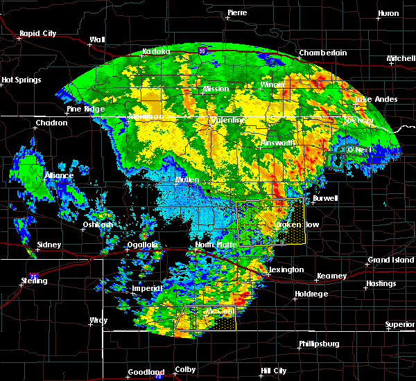 Radar Image for Severe Thunderstorms near Comstock, NE at 9/11/2019 11:43 PM CDT