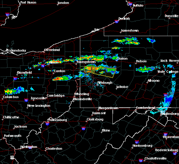 Radar Image for Severe Thunderstorms near Kittanning, PA at 6/23/2015 10:27 AM EDT