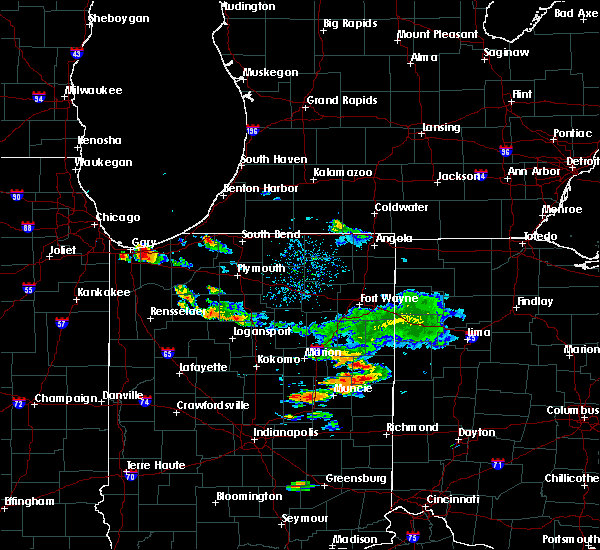 Radar Image for Severe Thunderstorms near Redkey, IN at 9/12/2019 8:00 PM EDT