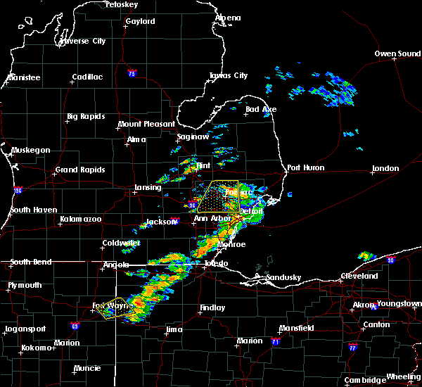 Radar Image for Severe Thunderstorms near Toledo, OH at 9/13/2019 4:03 PM EDT