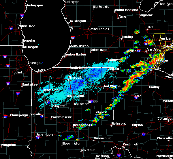 Radar Image for Severe Thunderstorms near Napoleon, OH at 9/13/2019 4:11 PM EDT