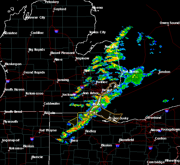 Radar Image for Severe Thunderstorms near Toledo, OH at 9/13/2019 5:01 PM EDT