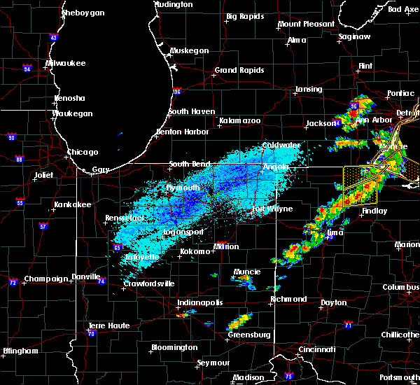 Radar Image for Severe Thunderstorms near Celina, OH at 9/13/2019 5:08 PM EDT