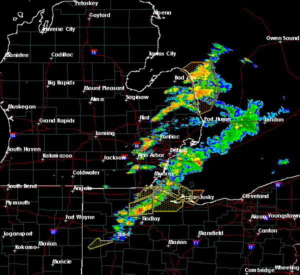 Radar Image for Severe Thunderstorms near Custar, OH at 9/13/2019 5:26 PM EDT