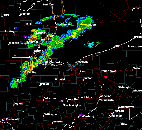 Radar Image for Severe Thunderstorms near New Riegel, OH at 9/13/2019 5:44 PM EDT