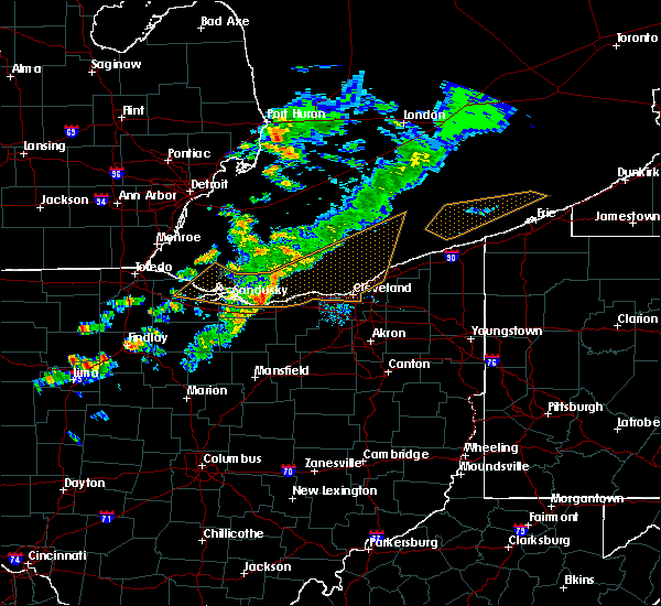 Radar Image for Severe Thunderstorms near Sheffield Lake, OH at 9/13/2019 7:06 PM EDT