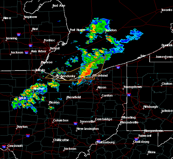 Radar Image for Severe Thunderstorms near Oberlin, OH at 9/13/2019 7:52 PM EDT