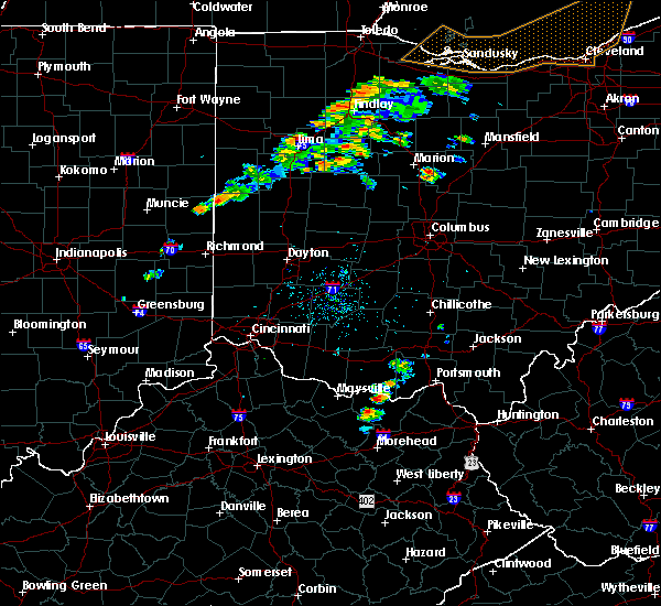 Radar Image for Severe Thunderstorms near Rome, OH at 9/13/2019 7:55 PM EDT