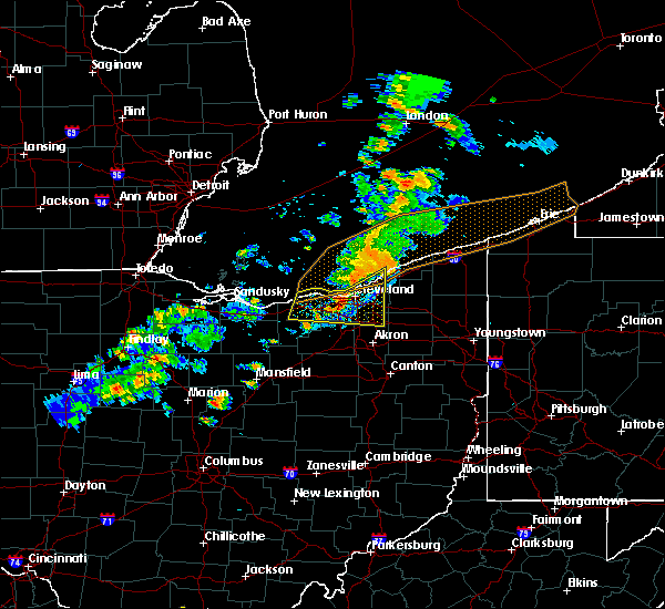 Radar Image for Severe Thunderstorms near Eastlake, OH at 9/13/2019 8:13 PM EDT