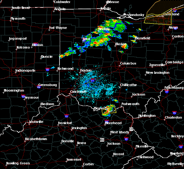 Radar Image for Severe Thunderstorms near Rome, OH at 9/13/2019 8:15 PM EDT