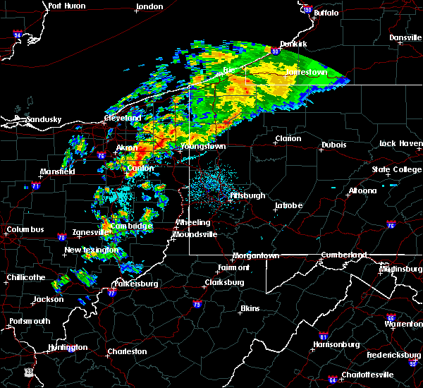 Radar Image for Severe Thunderstorms near Clark, PA at 9/14/2019 12:11 AM EDT