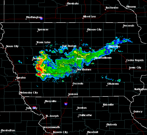 Radar Image for Severe Thunderstorms near Atlantic, IA at 9/14/2019 12:18 PM CDT