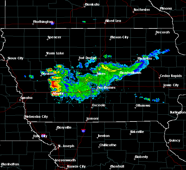 Radar Image for Severe Thunderstorms near Exira, IA at 9/14/2019 12:35 PM CDT