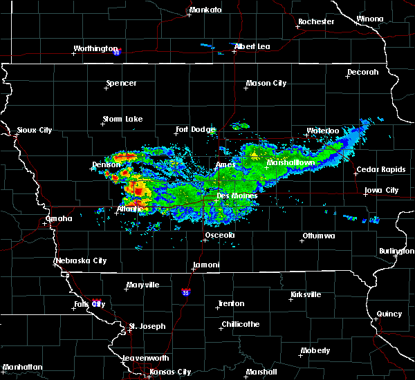 Radar Image for Severe Thunderstorms near Adair, IA at 9/14/2019 1:02 PM CDT