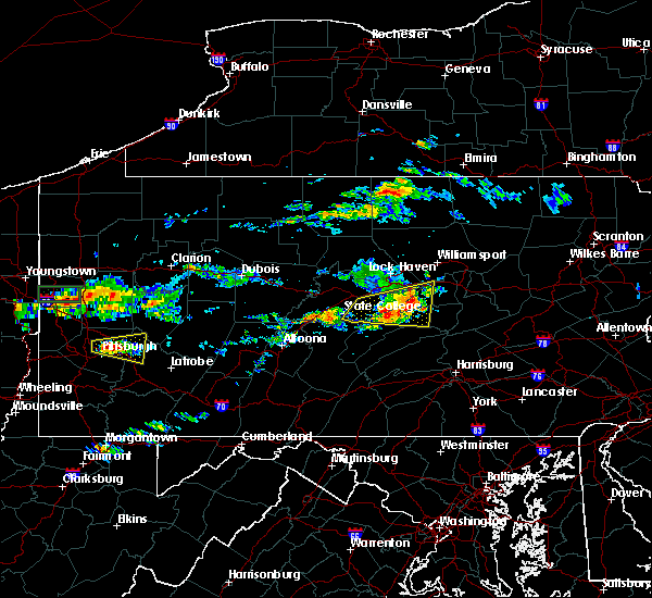 Radar Image for Severe Thunderstorms near Linntown, PA at 6/23/2015 12:53 PM EDT