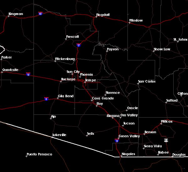 Radar Image for Severe Thunderstorms near Marana, AZ at 9/16/2019 2:20 PM MST