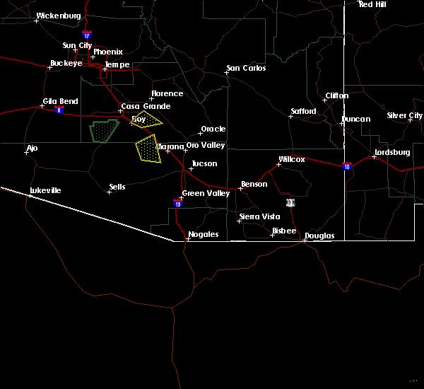 Radar Image for Severe Thunderstorms near Marana, AZ at 9/16/2019 4:09 PM MST